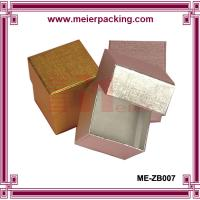 Buy cheap Metallic Golden/Silver Foil Printed Jewelry Boxes ME-ZB007 from wholesalers