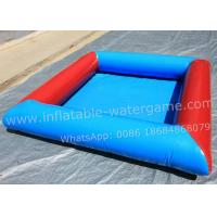 Buy cheap 8M Colorful Huge Inflatable Pool , Inflated Swimming Pool For Bumper Boats from wholesalers