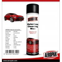 China AEROPAK 500ML aerosol spray can Waterless Cleaning Wax for car cleaning on sale