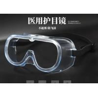 Buy cheap Poly Resin Flat Medical Safety Goggles Protect No Degree Design For Health Eyes from wholesalers
