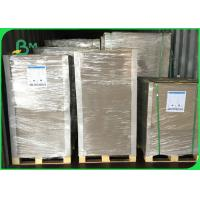Buy cheap FSC 1200gsm Laminated Grey Carton Gris Width 75 x 105cm For Carton making from wholesalers