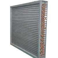 Buy cheap High Efficiency Aluminum Fin Heat Exchanger / Copper Pipe Fin Fan Condenser from wholesalers