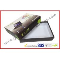 Customized Lid and Base Rigid Gift Box , 7 INCH MID Gift Packaging with Foam Tray