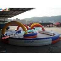 Buy cheap Durable Inflatable Sports Games Race Track , Inflatable Go Kart Track from wholesalers