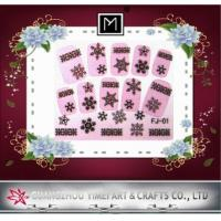 Buy cheap Custom New Design 2d Nail Stickers, full nail Decal For DIY Nail Decoration from wholesalers