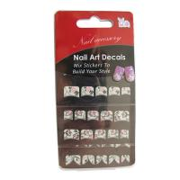 Buy cheap French nail stickers Flocking For Fingernail And Popular Design Nail Sticker from wholesalers