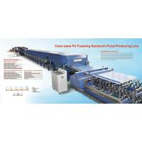 Buy cheap Color Steel sandwich panel production line from wholesalers