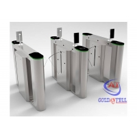 Buy cheap Face Recognition Ir Thermometer Turnstile Counter Barrier SUS304 from wholesalers