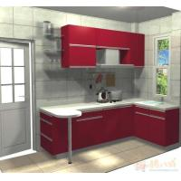 Buy cheap Painted Beveled Furniture Glass Tops Float Toughened For Countertop , Heat Insulation from wholesalers