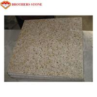 Buy cheap G682 Rusty Yellow Stone Misty Yellow Granite Floor Tile for Pavement from wholesalers
