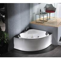 Buy cheap 2 Person Corner Hydromassage Bathtub from wholesalers
