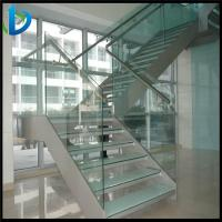Buy cheap tempered stair railing glass from wholesalers