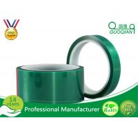 Buy cheap Green Insulated Electrical Tapes 200C No Printing For Paint Masking from wholesalers