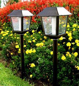 China Solar led outdoor lantern 4w on sale