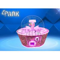 Buy cheap Pushing Gift Prize Out Game Machine / Attract Candy Crane Claw Machine from wholesalers