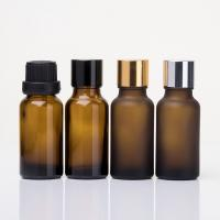 Buy cheap Empty 10ml amber glass essential oil bottle with screw cap for essential oil from wholesalers