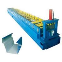 Buy cheap Colour-steel Downspout Roll Forming Machine Automatic Half Square type Gutter Making Machine from wholesalers