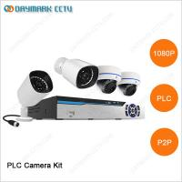 Buy cheap PLC NVR kit HD network 4ch 1080p business security camera systems from wholesalers
