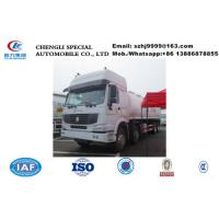 Buy cheap China high quality SINO TRUK HOWO 8*4 35CBM oil tanker truck sale, factory sale cheaper price HOWO fuel tank truck from wholesalers