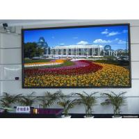 Buy cheap P4 Indoor Fixed LED Display 62500 dot/㎡ Density , Full Color Led Wall from wholesalers