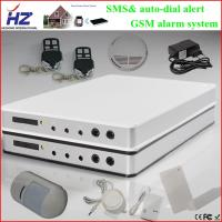 Buy cheap IOS/ Android application operate SMS alert alarm home gsm system from wholesalers
