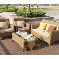 Buy cheap New arrival good quality patio furniture big sectional sofa set rattan sofa set with pillow cushion from wholesalers