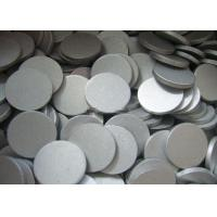Buy cheap Thin 1070 Aluminum Round Plate , 5mm - 110mm Polish Aluminium Slugs from wholesalers