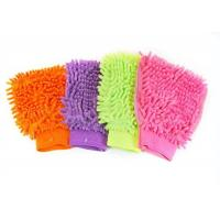 Buy cheap microfiber/chenille car wash gloves from wholesalers
