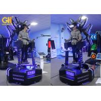 Buy cheap 1 Player VR Game Machine ,Viulux 8 VR Warrior Amusement Park Equipment product