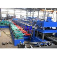 Buy cheap W Beam Expressway Guard Rail Roll Forming Machine 15 Tons Hydraulic Decoiler product