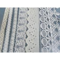 Buy cheap Fashion Styles T/C Eyelet Cotton Lace Fabric For Home Textiles from wholesalers