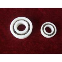Buy cheap PTFE PVDF Plastic Ball Bearings Corrosion Preventive With Ceramic Or Stainless Balls from wholesalers