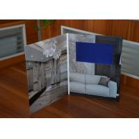 Buy cheap Innovative creative LCD video brochure 7inch screen high resolution video booklet for construction industry from wholesalers