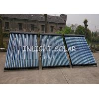 Buy cheap Black Heat Pipe Solar Collector 20 Tube Rockwool Polyurethane Insulation from wholesalers