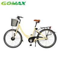 Buy cheap Bicycle Dynamo Light Ladys City Electric High Quality Pedal Assisted Cargo Bike from wholesalers