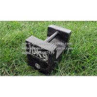Buy cheap Customized New Design  Small scale cast iron test weights 10kg Metric Light Capacity Grip Handle Weights from wholesalers
