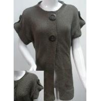 China Ladies Knitted Long Cardigan, Sleeveless Sweater (SFY-A058) on sale