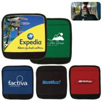 Buy cheap Custom Printed Comfort Neoprene Foam Luggage Handles Wraps with 2pcs of velcro from wholesalers