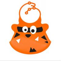 Buy cheap fashionable cortoon silicone baby bibs ,lovely animal silicone baby bib product