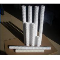 Buy cheap 30 40 PP Yarn Filter Cartridge / pp string wound filter cartridge for water treatment from wholesalers