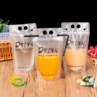Buy cheap Drinking Fruit Juice Packing Plastic Standing Pouch With Straw from wholesalers