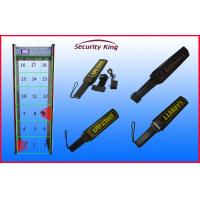 Buy cheap Airport Security Checking Door Frame Metal Detector , Multi Zone Walk Through Gate from wholesalers