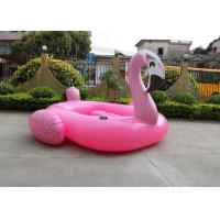 Buy cheap 385*350*205cm Pink Flamingo Pool Toy , Large Swimming Pool Toys WF-79 from wholesalers