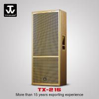 Buy cheap Touring Sound System Professional Dual 15inch Loudspeaker Performance DJ Sounds System TX-215 from wholesalers