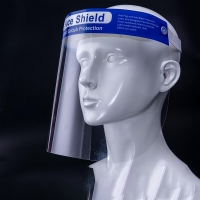 Buy cheap Wrap Around Design Surgical Clear Face Shield Visor from wholesalers