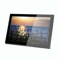 Buy cheap Customized 13.56MHz Card Reader Android OS 10 Inch Wall Mount Touch Screen Power by PoE from wholesalers