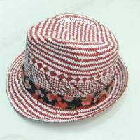 Buy cheap Fancy Check Fedora With Floral Band (NL 110724A Series) from wholesalers