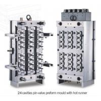 Buy cheap 24 cavity pin-valve preform mould  injection mould from wholesalers