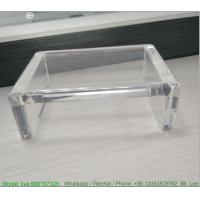 Buy cheap Small Transparent Acrylic Chair Custom Acrylic Products Perspex Mini Desk Children from wholesalers
