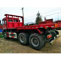 Buy cheap HOWO Flatbed Heavy Duty Dump Truck For Carry Stone 6x4 Driving Type 20 Ton Load from wholesalers